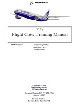BOEING B777 Flight Crew Training Manual