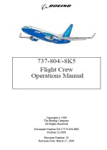 Boeing B737-800 Flight Crew Operating Manual