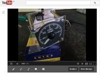 First Prototype Gauge on YouTube